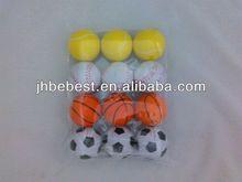 Bebest Hungriness yiwu china factory produce size 6.3 pu toy ball size 6.3 pu stress ball size 6.3 eco-friendly pu toy ball