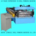 ondulado metal ferro folha de cobertura roll forming máquina de fazer perfil de alumínio máquina de corte