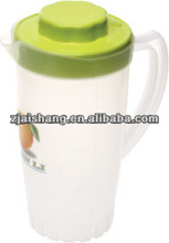 European Fashionable First Rate High Quality food grade Clear plastic water pitcher jug Bpa free