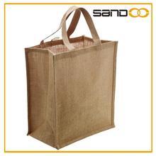 Wholesale tote jute promotion bags, cheap cotton shopping bags