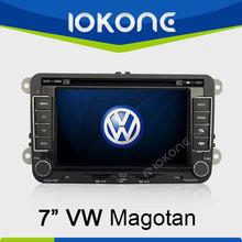 "factory 7"" HD 2 din 2005-2010 touch screen car radio gps for vw golf 6 tiguan with gps, TMC, camera, mic, dvb-t"