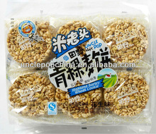 sweet grain snack 400g puffed wheat cookies with highland barley