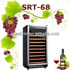 SRT-68 188L 60 Bottles Compressor Dual Zones Built-in Tall Wine Storages