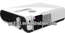 DLP circular polarized 3D led projector for theater/KTV/Bar / home /office
