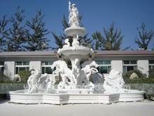 Outdoor Garden Natural Stone Water Fountain