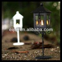 colored square iron lantern