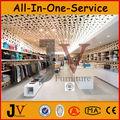 Ropa únicas de madera estante y de escritorio para venta al por mayor tienda de ropa