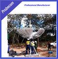 Probecom 3.7m vsat de satélite de la tierra de la antena de la estación