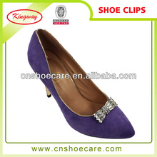 new arrival bling bling rhinestone crystal shoe clips