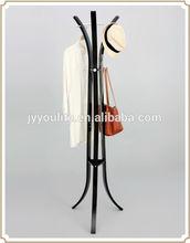 Folding metal Diy standing coat rack