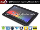 Mini laptop tablet 7 inch Allwinner A13 tablet pc price 512M/4G WIFI Android tablet pc