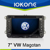 "factory 7"" HD Touch screen 2 din 2005-2010 vw passat navigation system with gps, TMC, camera, mic, dvb-t"