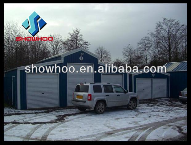 3 Auto Prefab Garage Prefab Modulaire Garage Te Koop