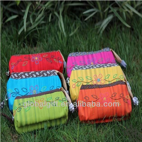 National Characteristics Cloth Bag,Handmade cotton Coin Hand Bag