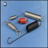 Custom plastic extension springs