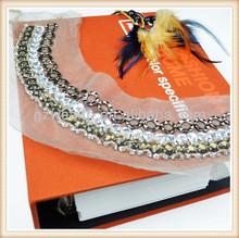 handmade elegant neck design of ladies suits for ladies' design 2014