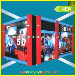 Cheap high profit amusement park mobile cinema 5d 6d 7d 8d 9d for sale