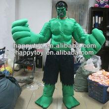 Hi CE de calidad superior hulk traje de la mascota