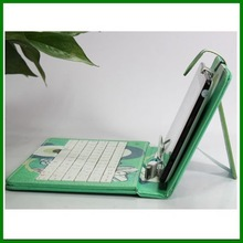7,8,9,9.7 & 10 inch Universal Tablet Case , leather tablet keyboard case, Plastic USB keyboard