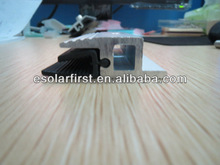 end clamp rail mounting clip for solar ground mounting kits for thin film panels