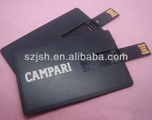 customized logo printing cheap 4gb 8gb usb flash memory card,black credit card usb flash