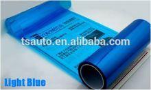 TS headlight car wrap sticker\hot sale electric tint film for headlight tail light fog light Dark Blue