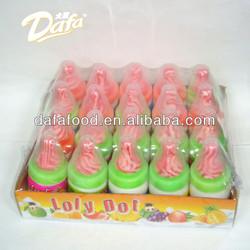 Dafa 13g nipple bottle sour powder candy,nipple candy