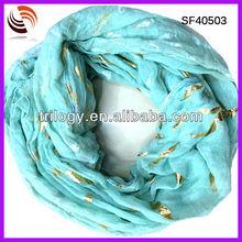 wholesale 2014 fashion ladies knitting scarf moustache chevron infinity scarf