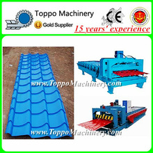 Automatic Machine of Glazed Color Coated Metal Roof Tiles