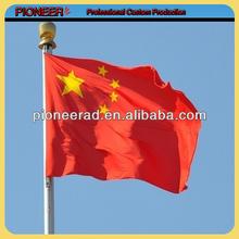 Custom cheap polyester China flag