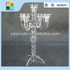 Clear Tall Acrylic Candelabras for sale ,acrylic lucite candelabras