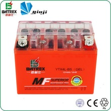 Motorcycle Wheels Parts Maintenance Free Gel Battery 12V For YTX4L-BS