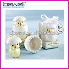 Wedding gift / chicken Ceramic Cruet gift