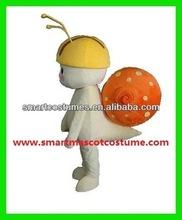 cute adult snail mascot costume snail costume