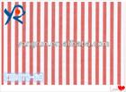 100 cotton shirting woven fabric with stripe poplin