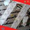 China Manufactured Wholesale 100 Cotton Eyelet Crochet Lace Edging