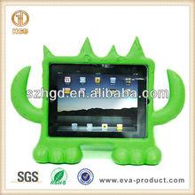 hard wearing shock resistant EVA Monster animal case for ipad 2 3 4