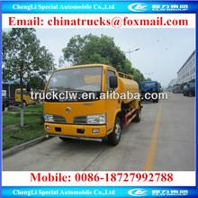 4 m3 water tank,4 m3 water tank truck,4000 liter water tanker
