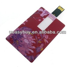 promotional super thin credit card usb flash drive