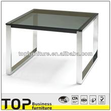 Glass Top Modern cheap glass coffee table fish tank