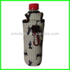 enviromental protection promotional neoprene foldable beer can cooler
