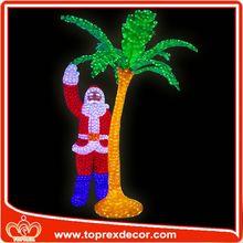 Christmas decoration tractor garden decorations