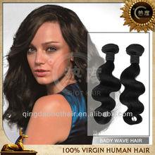 6A 100%Virgin human unprocessed brazillian weaving hair