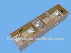 China economic portable container houses / container hotel manufacturer