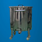 shampoo storage tank, liquid storage container in top stainless steel