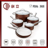 porcelain coated cast iron cookware CL-C045