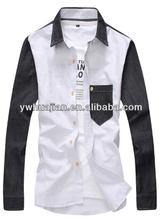 Fotos de formal coréia homens estilo camisas negras homens