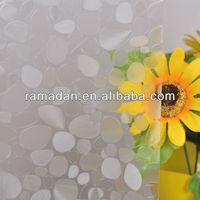 Decorative static cling window film 3d glass film