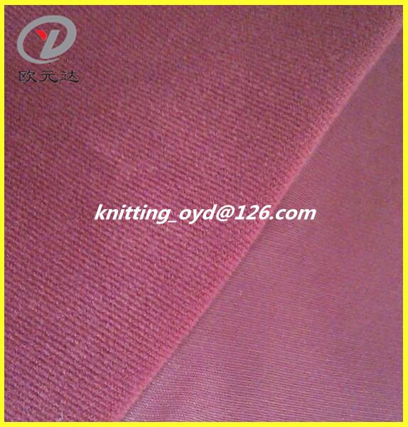 Haining 100 Polyester DTY corduroy fabric for sofa,cusion & garment
