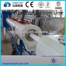 PVC pipe extrusion line single extruder screw barrel